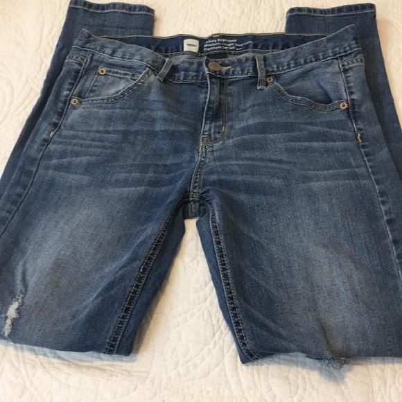 Mossimo Supply Co. Denim - Mossimo Skinny Boyfriend Jeans
